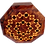 "Thumbnail: T22-  Octagonal Inlaid Box Marquetry 6.6x2.3 ""17x6cm"