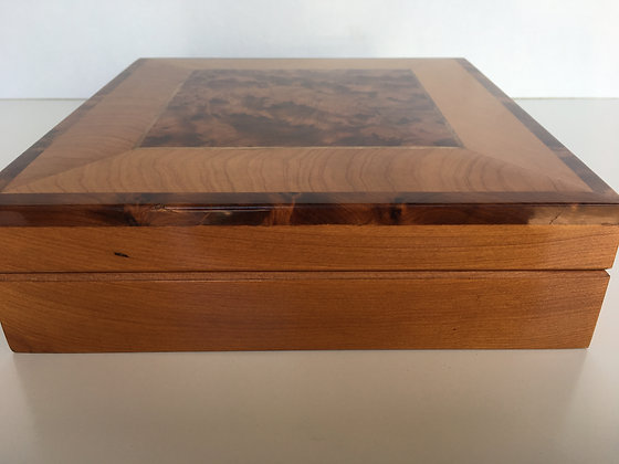 T3- Thuya Burl Jewellery Box