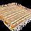 Thumbnail: R33- Hand woven Moroccan Rug.Berber Carpet. 4.9x4.9ft/ 150x150cm.