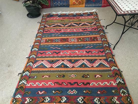 RG5-Moroccan Handmade Berber Rug 100% wool