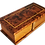 Thumbnail: T1- Cukklinks  Magical Box- 2 Draws Thuya Burl Box 18x8 cm