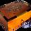 Thumbnail: T85- Inlaid Jewelry Box Thuya Burl 6.6x3.9x3.1//17x10x8cm