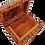 Thumbnail: T12- Thuya Burl Box 14x10x6 cm Cufflinks, Jewelry Box
