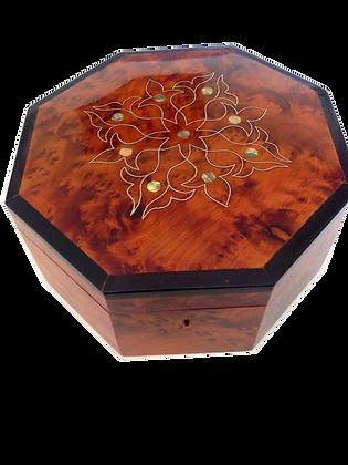 "T20- Stylich Jewellery Box. Cufflinks Box 7.8x7.8x3.9""20x20x10cm"