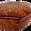 """Thumbnail: T33- Octagonal inlaid jewelry box. Thuya Burl. 7x2.5"""""""