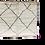 Thumbnail: R40-Genuine Moroccan Beni Ouarain Rug. Natural Wool.4.9x4.9 ft