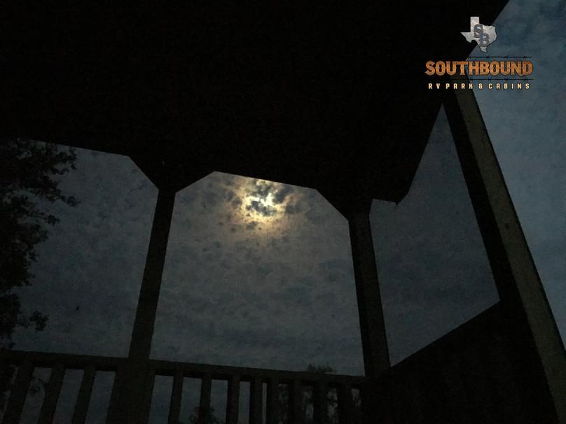 Porch view at Gulfcoast campground