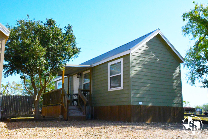 Extended Stay hotel cabin in Victoria TX