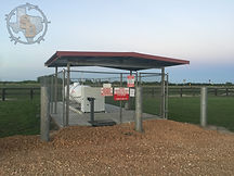 Propane Station at RV Park in Victoria Texas