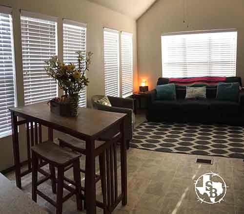 Standard One Bedroom Cabins