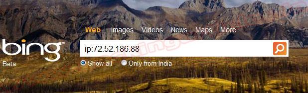 find sites hosted on same server