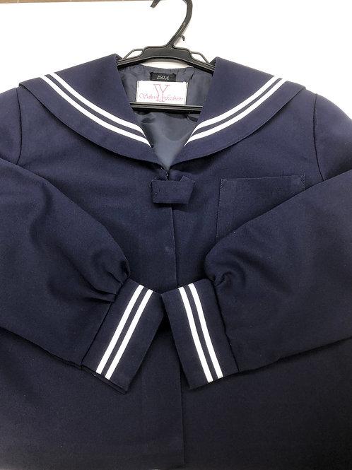 越前市小学校冬セーラー服上(150)