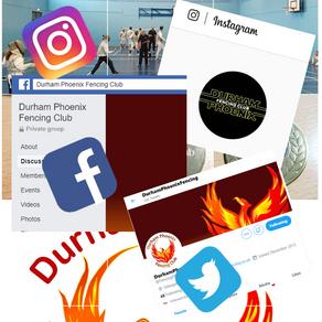 Find us on social media.....