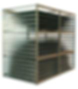 Horizontal laminate sheet storage