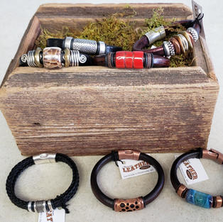 Montana Leather Bracelets