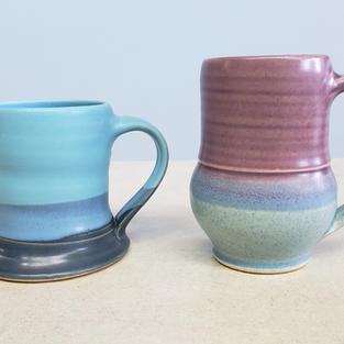 Pottery Coffee Mugs