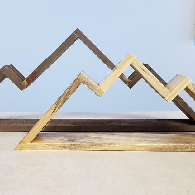 Mountain Wood Shelf