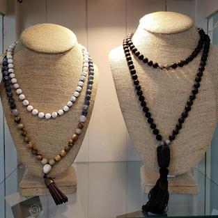 Gemstone Mala Necklaces