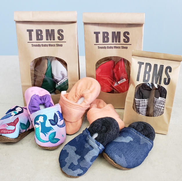 TBMS Childrens Moccasins