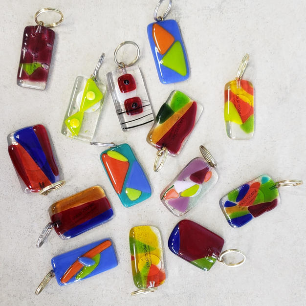 Stain Glass Keychains