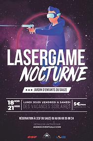 Eventually agence évènementielle à Barcelonnette Laser Game Nocturne