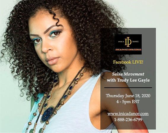 Trudy Lee Gayle - Salsa Promo