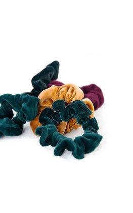 Velvet Woolf Scrunchies - Set of Two