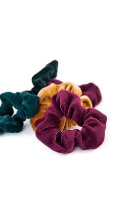 Velvet Woolf Scrunchies