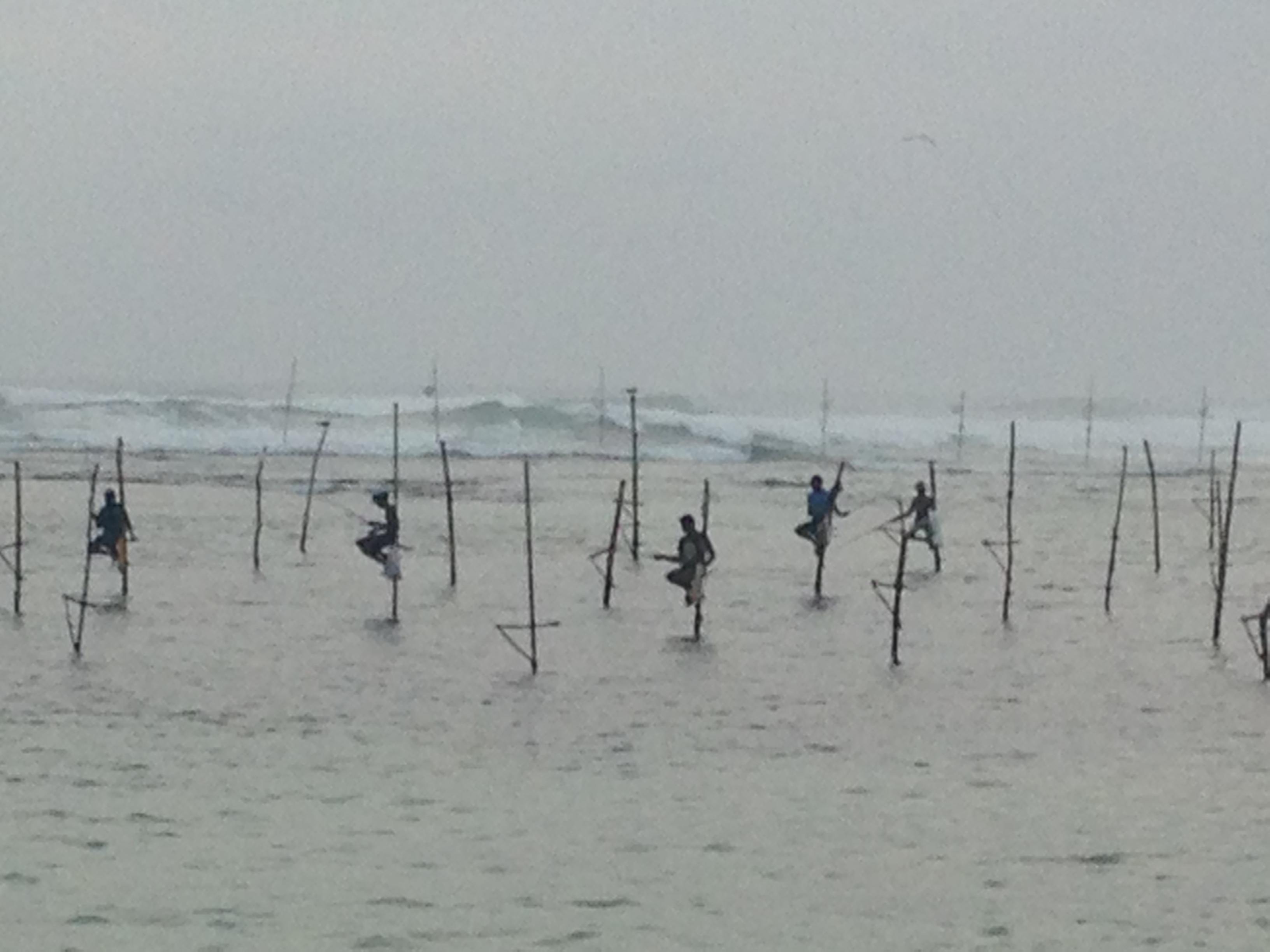 Pecheurs srilankais