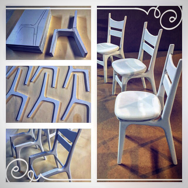 Kitchen Chair process