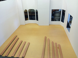 Julie's room takes shape