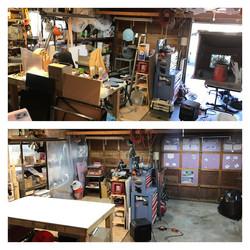 Shop setup for Production