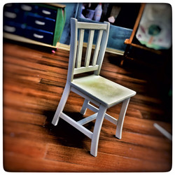 Julie's chair ready for paint
