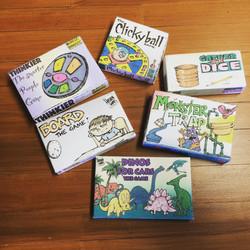 Julie's Board Games