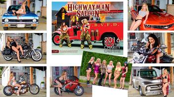Highwayman Saloon Calendar Shoot