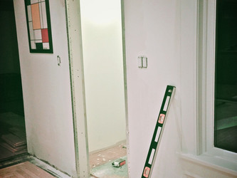 Throwback Thursday: Door frame removed