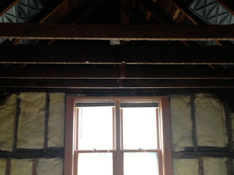 Beams replaced