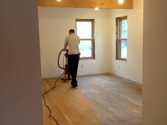 Floors sanded