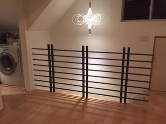 Flashback Friday: Custom stair railing