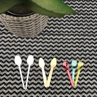 Mokkás kanalak, fa és műanyag