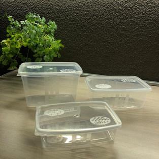 ILPE dobozok, mikrózható, fagyasztható