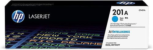 HP 201A Cyan Toner Cartridge (CF401A)