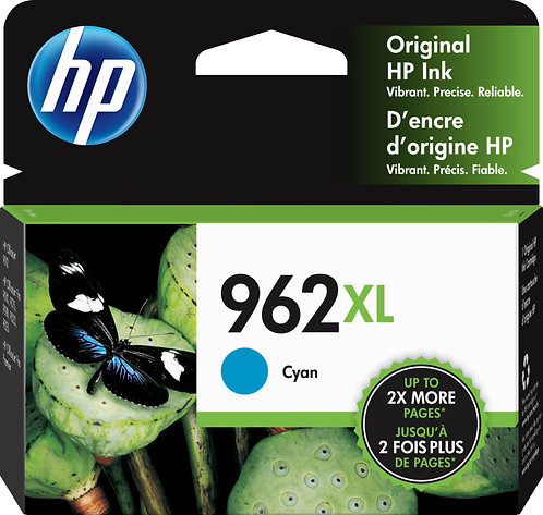 HP 962XL High Yield Cyan Ink Cartridge