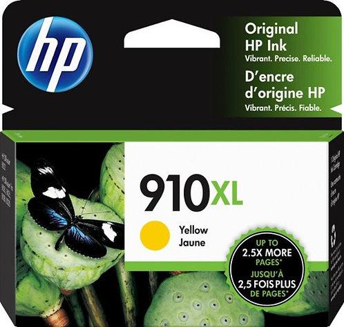 HP 910XL High Yield Yellow Ink Cartridge