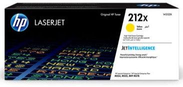 HP 212X High Yield Yellow Toner Cartridge (W2122X)