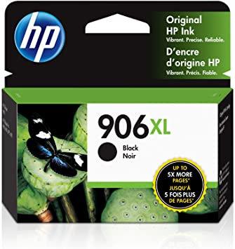 HP 906XL High Yield Black Ink Cartridge