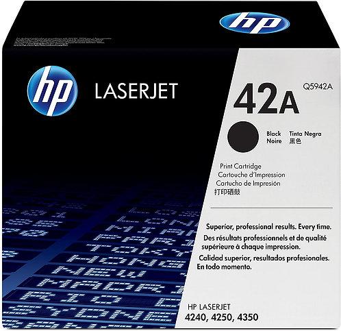HP 42A Black Toner Cartridge (Q5942A)