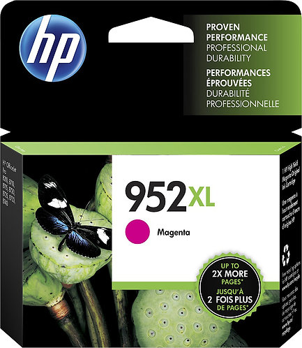 HP 952XL High Yield Magenta Ink Cartridge