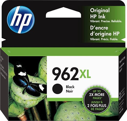 HP 962XL High Yield Black Ink Cartridge