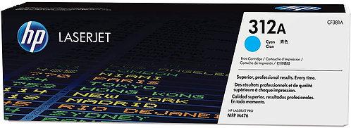 HP 312A Cyan Toner Cartridge (CF381A)